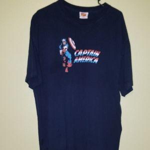 Vintage 2006 Marvel Comics Captain America Shirt
